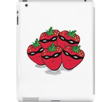 The Strawberry Thieves band logo large iPad Case/Skin