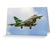 3 Sqn Centenary Typhoon ZJ936/QO-C Greeting Card