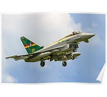 3 Sqn Centenary Typhoon ZJ936/QO-C Poster
