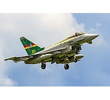 3 Sqn Centenary Typhoon ZJ936/QO-C Photographic Print