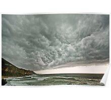 Summer Coastal Storm Poster