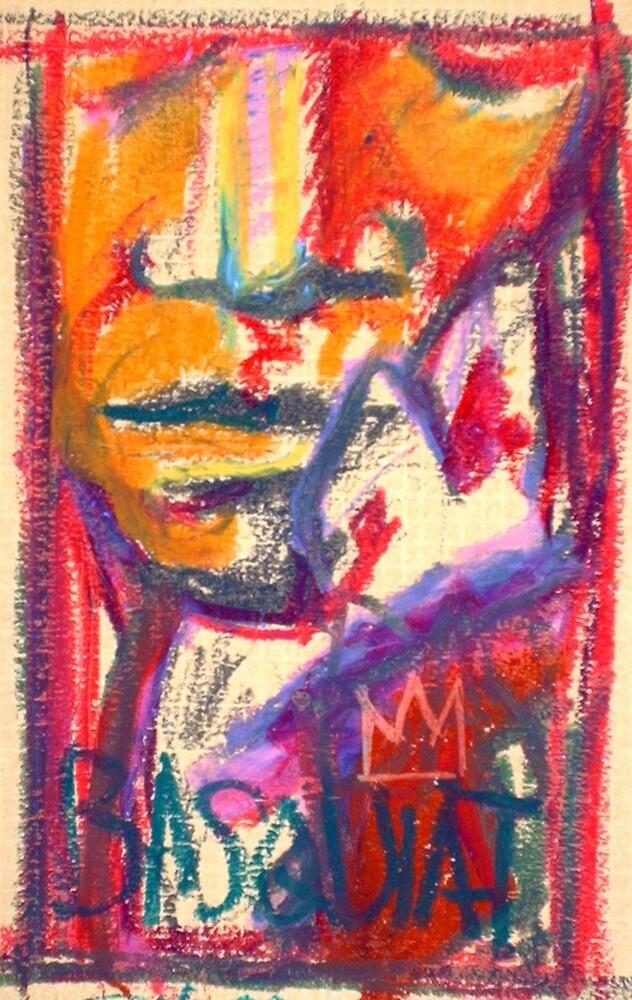 BASQUIAT (III) by Derek Shockey
