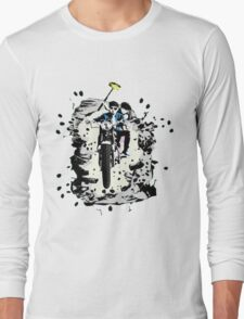 Emmett and Bay street art - Switched at Birth Long Sleeve T-Shirt
