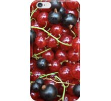 Red and black currant in a pile iPhone Case/Skin