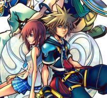 Kingdom Hearts 2 Sticker