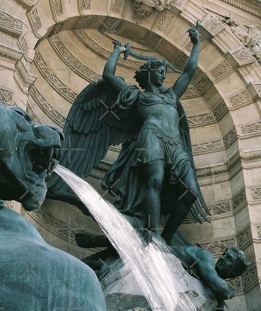 Fontaine Saint-Michel, Paris by Catherine C.  Turner