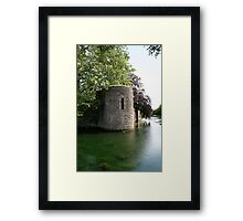 Turret at the Bishops Palace, Wells Framed Print