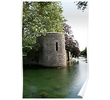 Turret at the Bishops Palace, Wells Poster