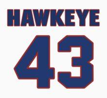 Basketball player Hawkeye Whitney jersey 43 by imsport