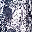 """Birdsong 2 by Belinda """"BillyLee"""" NYE (Printmaker)"""