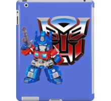 SD Optimus Prime iPad Case/Skin