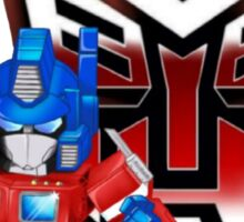 SD Optimus Prime Sticker