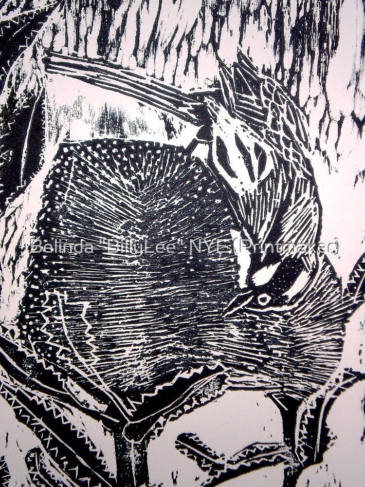 """Honeyeater by Belinda """"BillyLee"""" NYE (Printmaker)"""