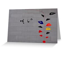 Alexander Calder, Cascading Flowers Greeting Card