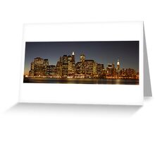 New York Nights Greeting Card