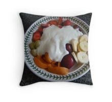 I Love My New Diet Throw Pillow
