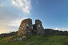 Drying Kiln, Lunna Ness, Shetland by Richard Ion