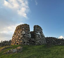 Drying Kiln, Lunna Ness, Shetland by Richard Ion