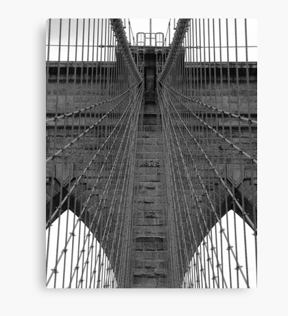 Brooklyn Bridge - Aged Beauty Canvas Print