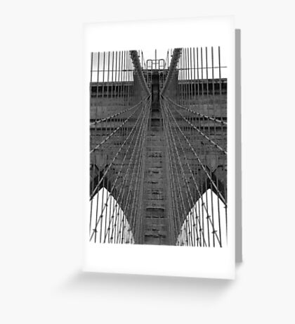 Brooklyn Bridge - Aged Beauty Greeting Card