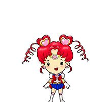 Sailor Scout Sailor CHIBI CHIBI MOON by Bantambb