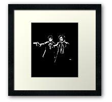 Pulp Sherlock Framed Print