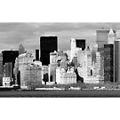 Views from the Ferry - New York by ScottL