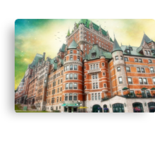 Chateau Frontenac, Quebec City, Canada Canvas Print