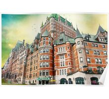 Chateau Frontenac, Quebec City, Canada Poster