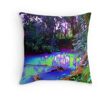 i come to dream Throw Pillow