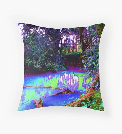 i come to dream Throw Pillow