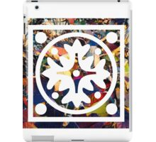 Flowering Stamp iPad Case/Skin