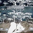 &quot;Dreaming of Life&quot; Aquatint Etching by Belinda &quot;BillyLee&quot; NYE (Printmaker)
