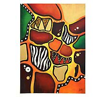 Abstract Africa Photographic Print