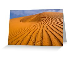 Dune in Colour Greeting Card