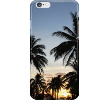 Sunset silhoutte iPhone Case/Skin