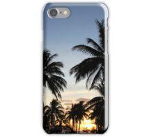 Sunset silhoutte iPhone Case/Skin