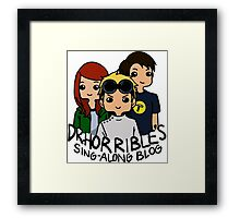 Dr. Horrible's Sing-Along Blog Framed Print