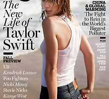 Taylor on the cover of Rolling Stone by maurathexplorer