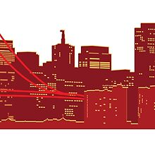 San Fran Skyline by TPdesigns
