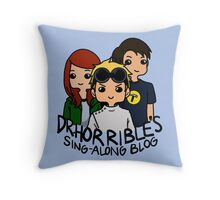 Dr. Horrible's Sing-Along Blog Throw Pillow