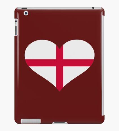 England flag heart iPad Case/Skin