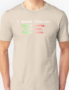 I Speak Italian T-Shirt