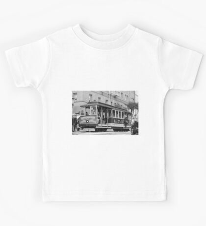 San Francisco Cable Car Kids Tee