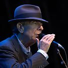 Leonard Cohen in Dublin by Anima Fotografie