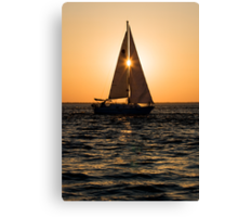Solar Line Up Canvas Print