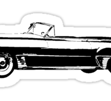 1949 Cadillac Convertible Sticker