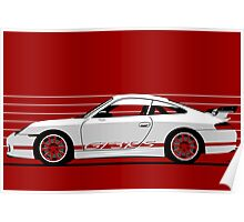 Porsche 911 (996) GT3 RS Poster