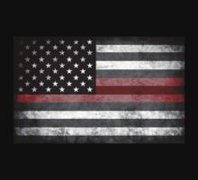 The Thin Red Line - American Firefighter Kids Clothes