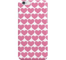 Hearts Repeating (Valentines) iPhone Case/Skin